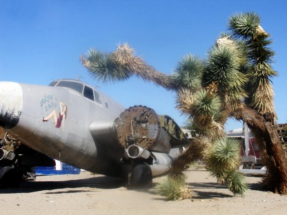 Aviation Warehouse - Aviation Related Props - Adelanto, California